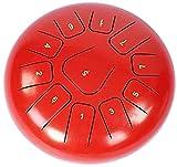 PIAOLIGN Tambor de Lengua de Acero, Lengua de Acero de 12 Pulgadas 11 Tono para Combatir la música, el Rango de Sonido, el batería y el Kit de batería, niños Adultos a los niños.