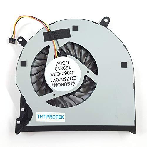 Lüfter Kühler Fan Cooler Version 2 Kompatibel für Dell XPS 15L521X L 521X, DP/N 037XGD