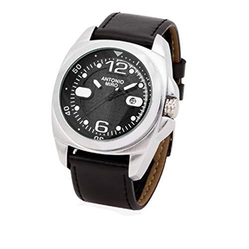 Reloj Antonio Miro OSISEL-Elegante Reloj de Pulsera de Antonio Miró. Caja metálica de dial analógico Circular