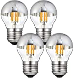 Lxcom Lighting 4W G45 Edison LED Bulb Silver...