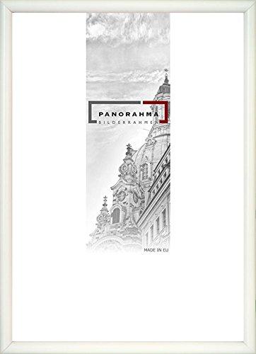 Kunststoff Bilderrahmen, Bildformat: 42 x 59,4 cm (DIN A2), Weiss, Echtglas
