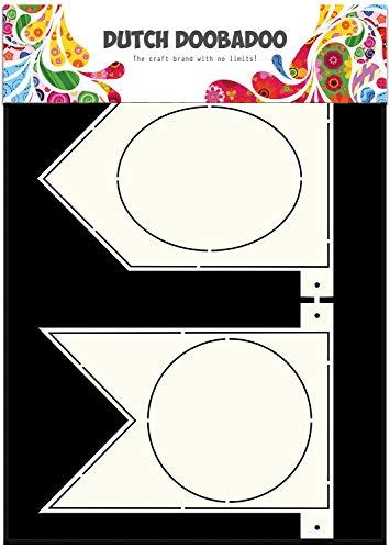 Dutch Doobadoo 470713319 kaarten sjabloon A4 bannervlaggen