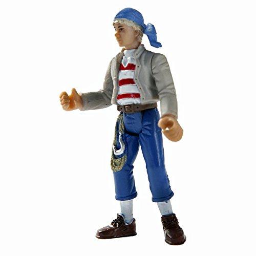 Käpt´n Säbelzahn Pinky Spielfigur Figur Pirat 9cm Kapitän Kaptein Sabeltann