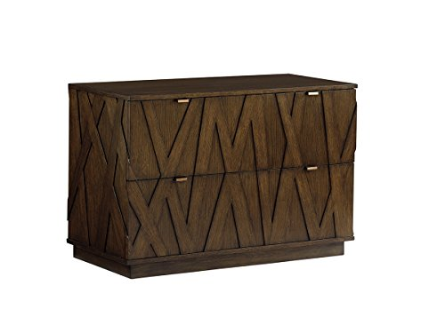 Sligh Cross Effect Prism File Chest in Rich Mocha