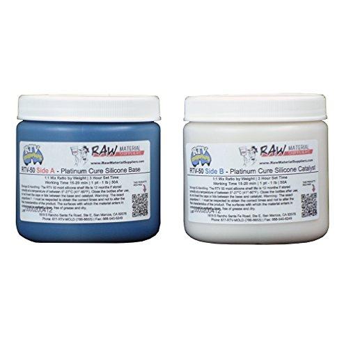 RTV-50 50A Platinum Cure Silicone Kit 2 lb
