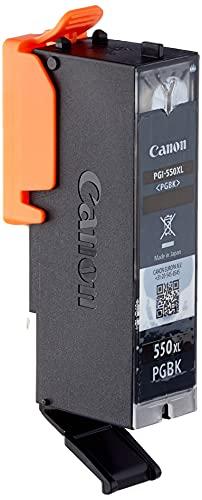 Canon PGI-550 PGBK XL Druckertinte - Pigment Schwarz hohe Reichweite 22 ml für PIXMA Tintenstrahldrucker ORIGINAL