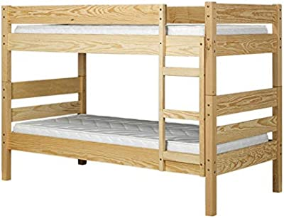 Etagenbett für Kinder mit Bettkasten, Stockbett für