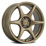 Kansei TANDEM BZ Custom Wheel - 18x9.5, 22 Offset, 5x114.3 Bolt Pattern, 73.1mm Hub - Bronze Rim