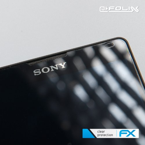 atFoliX Huawei Ascend W1 Displayschutzfolie (3 Stück) - FX-Clear, kristallklare Premium Schutzfolie - 3
