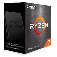 AMD Ryzen 7 5800X cooler なし 3.8GHz 8コア / 16スレッド 32MB 105W 100-100000063WOF 三年保証 [並行輸入品]