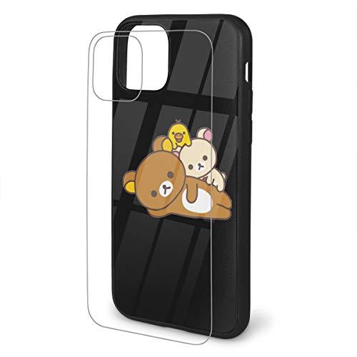 N / A Rilakkuma iPhone 11 Handyhülle Schutz Telefon TPU Staubdicht Jungen Und Mädchen
