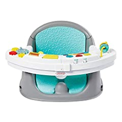 Child development: The Discovery Seat features a unique snack time tray and removable toys for sensory play; it comes fully specially equipped with a light up piano which plays 20 songs and sounds Engaging activities: This infant activity seat includ...