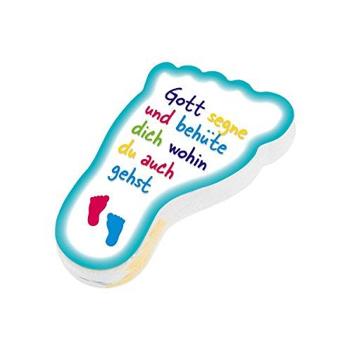 Christliche Geschenkideen °* Gepresstes Handtuch/kleines Frotteetuch (Füßchen)