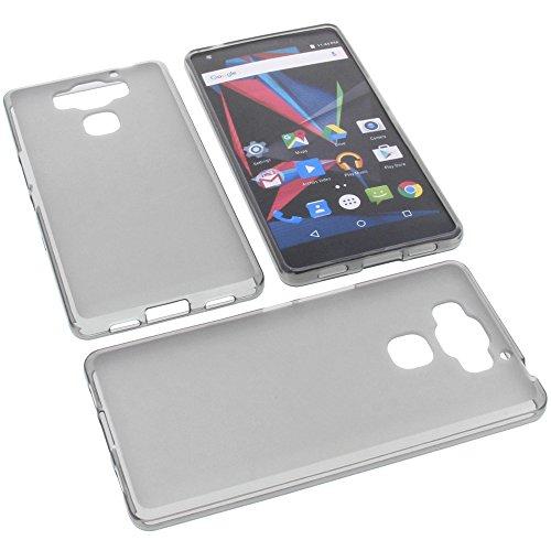 foto-kontor Tasche für Archos Diamond 2 Plus Gummi TPU Schutz Handytasche grau