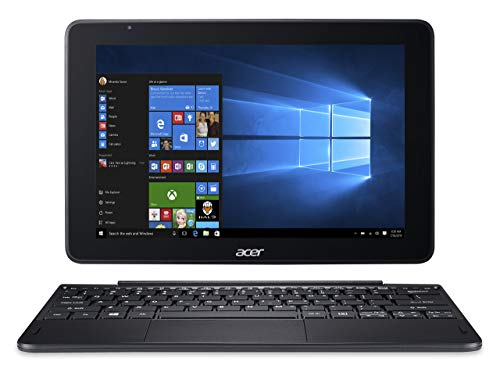 Acer One 10 S1003 Detachable Notebook - (Intel Atom x5-Z8350, 2GB RAM, 32GB eMMC, 10.1' Multi-touch WXGA Display, Iron) (Refurbished)