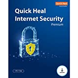 Quick Heal Internet Security Latest Version - 1 PC, 1 Year