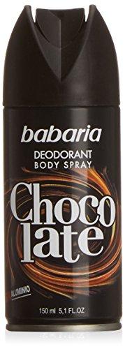 Babaria - Desodorante Chocolate Vaporizador, 150 ml