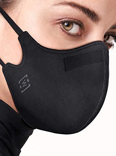 Wolford - Rivestimento per viso da donna, 96230.7005.OS, Maschera di sicurezza con finitura idrorepellente., Cruz V2 Fresh Foam, One Size