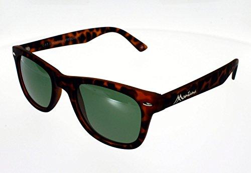 Montana Eyewear Sunoptic MP41A zonnebril in zwart, inclusief stoffen tas