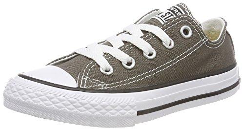 Converse Chuck Taylor All Star Season Ox, Unisex Kids 'Trainer, silber - Argento (Old Silver) - Größe: 31.5