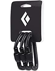 Black Diamond Hotforge - Mosquetón para Puerta (3 Unidades)