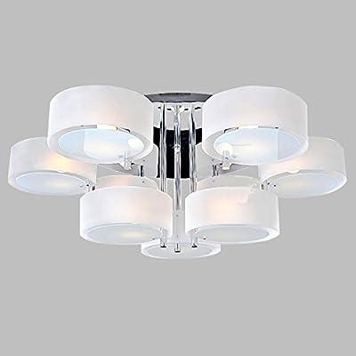 Deckenlampe Spotleuchte 4 Gu10-Led Nickel-Matt Eglo 75144