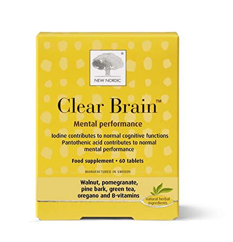 New Nordic Ltd 32 g Trasparente Cervello Integratore