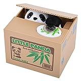 SWIN Little Panda Hucha de juguete con forma de cerdito para robar monedas y panda, perfecto para niños y adolescentes