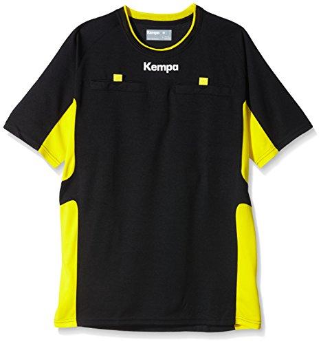 Kempa - Camiseta de árbitro unisex, color negro/amarillo (limonengelb), talla XXL
