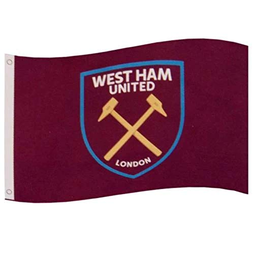 West Ham Football Club Official Large Flag Big Crest Game Fan Banner