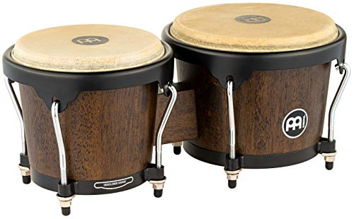 Meinl Percussion HB100VWB-M Wood Bongo-Set, Headliner Designer Series, Durchmesser 17,15 cm (6,75 Zoll) Macho / 20,32 cm (8 Zoll) Hembra, vintage wine barrel