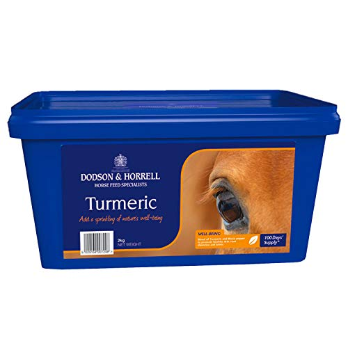 Dodson and Horrell Turmeric Health Supplement 2kg Blue