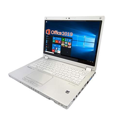 Panasonic ノートPC CF-MX5/wajun(ワジュン)PCバッグセット/12.5型フルHD/タッチパネル/MS Office 2019/Win 10 Pro/Core i5-6300U/Webカメラ/HDMI/WIFI/Bluetooth/8GB/1TB SSD (整備済み品)