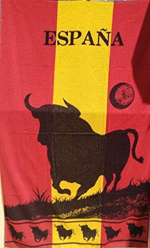 VIDAL HOME Toalla Playa Toro Bandera DE ESPAÑA