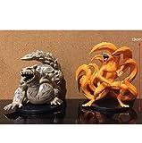 2pcs Ltong/Set Naruto Kurama Kyuubi Animado Figura de acción de PVC Colección Figuras Juguetes Brinquedos Collection 13cm Peng