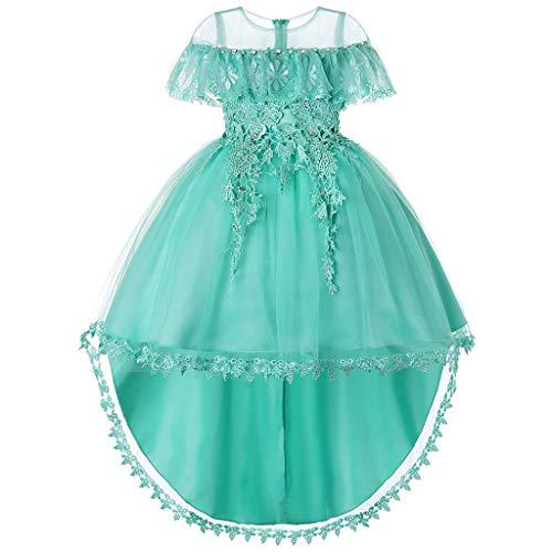 Amphia Amphia Mädchenkleid, Babys, die Blumen-Pailletten-Prinzessin Party Formal Dress Clothes Wedding sind