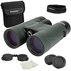 PERFECT BINOCULARS FOR EVERY ADVENTURE: A great match for everyone from beginners to mid-range outdoors and birding enthusiasts. The perfect combination of premium build, portability, and price TOP-RATED GLASS OPTICS WITH IMPRESSIVE SPECS: Fully mult...