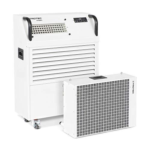 TROTEC Klimaanlage PT 4500 S inkl. Wärmetauscher PortaTemp Klimagerät schnelles kühlen mobil Split Gerät