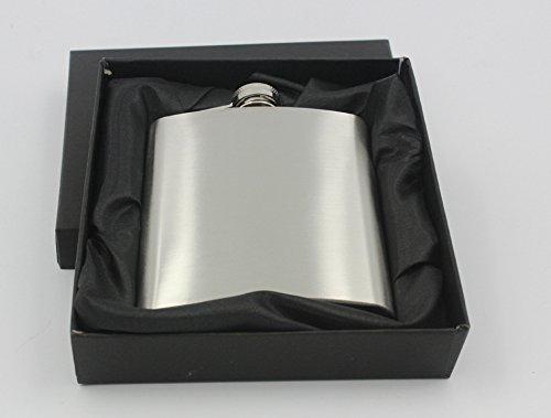 7oz inox Portable Hip Flask Gift Box Set comprend une boîte-cadeau appropriée pour extérieur Noël idées cadeaux pour les ados