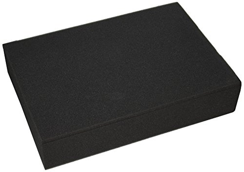 SRA Cases 2-Piece Foam Block Insert For EN-AC-FC-A501 Hard Case, 17.3 x 12.2 x 3.5 Inches