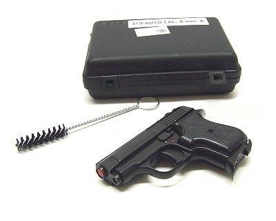 Pistola Bruni a salve 315 auto nera calibro 8 mm