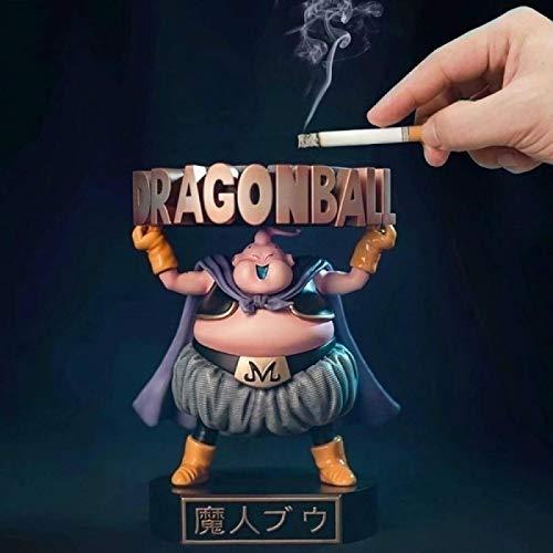 Dragon Ball Z Buu Boo Fat Cute Standing Tray Ashtray Ver. Figura De Acción DBZ Majin Boo Goku Fighter Collect Model Toy 13Cm