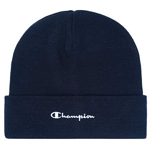 Champion Beanie 804671 BS501 NNY Dunkelblau, Size:ONE Size