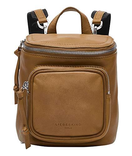Liebeskind Berlin Tamora Backpack Rucksackhandtasche, Extra Small (19 cm x 16 cm x 9cm), pale honey