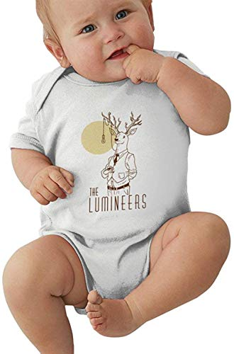 Dmode The Lumineers Baby Bodysuit Unisex Infant Sport Jersey Bodysuits Summer Round Neck Short Sleeve Tops