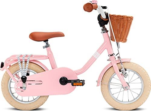 Puky Steel Classic 12'' Retro Kinder Fahrrad rosa