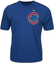 Chicago Cubs Adult Evolution Color T-Shirt (X-Large, Royal Blue)