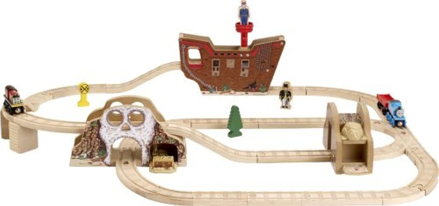 Thomas And Friends Wooden Railway - Pirates Cove Set by Learning Curve