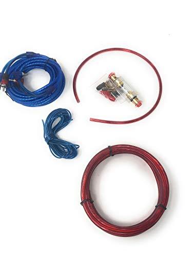 Kit Completo Di Cavi RCA Audio Per Installazione Amplificatore Auto Subwoofer