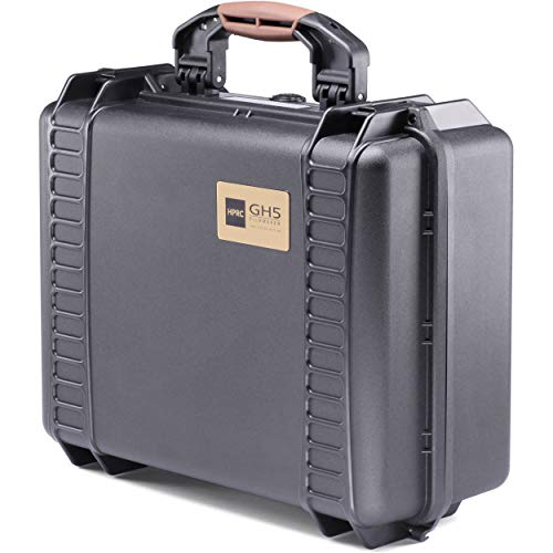 HPRC PANASONIC GH5 Laptop Rollkoffer, 43 cm, 21.5 liters, Schwarz (Black)